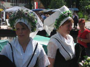 Sorbische junge Frau_Spreewald 2008 140