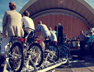 Fahrraddisko hinten 1